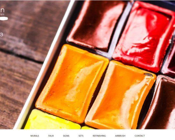 Начална страница на уеб сайт Creation Lee
