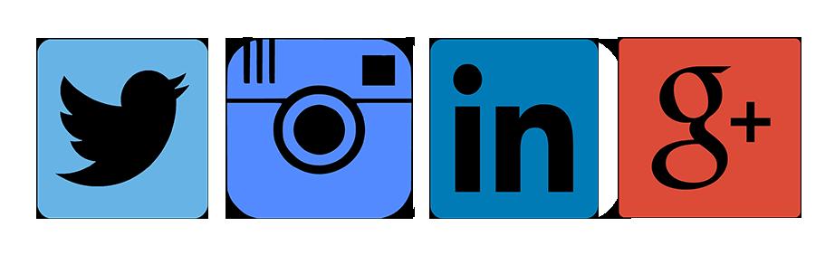 Лога на социални мрежи
