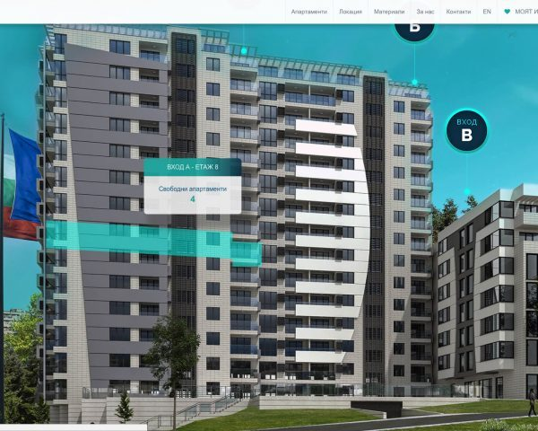 Интерактивна карта на уеб сайта